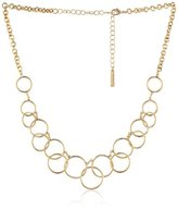 "Nine West Classics"" Gold-Tone Frontal Necklace"