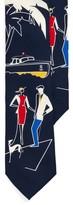 Ralph Lauren Silk Graphic Tie