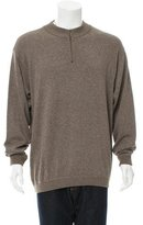 Ermenegildo Zegna Wool-Blend Half-Zip Sweater