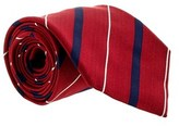 Gianfranco Ferre J040 U6y Red/navy Silk Mens Tie.