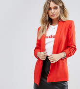 Missguided Gathered Sleeve Blazer