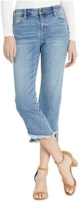 Liverpool Crop Flare Five-Pocket in Hemet (Hemet) Women's Jeans