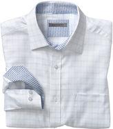 Johnston & Murphy Herringbone Dash Windowpane Shirt