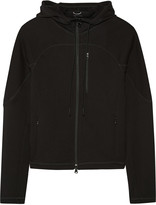 Theory Theory+ Ionize cotton-terry hooded top
