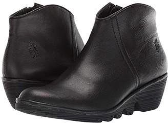 Fly London PEVO092FLY (Black Mousse) Women's Boots