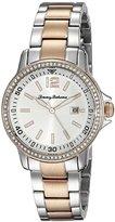 Tommy Bahama Women's 10019256 Island Breeze Analog Display Japanese Quartz Silver Watch