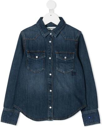 Zadig & Voltaire Kids Denim Long-Sleeve Shirt