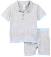 Angel Dear Golf Polo Top & Short Set (Baby Boys)