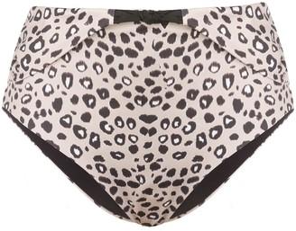 Morgan Lane Zizi leopard-print bottoms