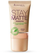 Rimmel Stay Matte Foundation 30ml
