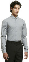 Kenneth Cole Long Sleeve Slim Fit Dress Shirt