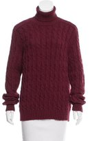 Gucci Cable Knit Turtleneck Sweater