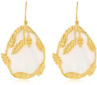 Aurélie Bidermann Francoise Nacre Pendants Earrings
