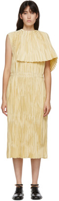 Jil Sander Beige Satin Nimi Dress