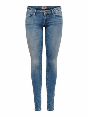 Only Women's Onlcoral Sl Skinny Bb Rea12599 Jeans