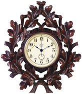 The Well Appointed House Oak Leaf Wall Clock
