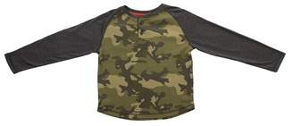 BEAR CAMP Thermal Camo Henley (Big Boys)