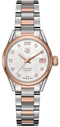 Tag Heuer Carrera Mother-Of-Pearl Self-Winding 32mm Watch