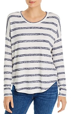 Rag & Bone Striped Space-Dye Tee