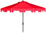 Safavieh 9' Zimmerman Crank Market Umbrella