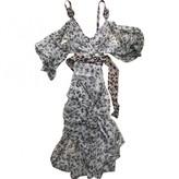 Zac Posen Beige Silk Dress for Women