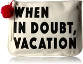 Twig & Arrow Penny When in Doubt Vacation Pouch