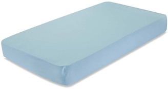 L.A. Baby Mint Fitted Crib Sheet