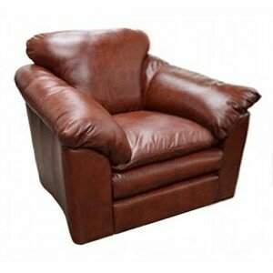 BEIGE Omnia Leather Oregon Leather Armchair Omnia Leather Body Fabric: Eugene Beige, Seat Cushion Fill: Standard Cushion Fill