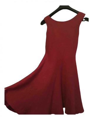 Alaã ̄A AlaAa Red Silk Dresses