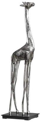 Uttermost Mireya Silver Giraffe Sculpture