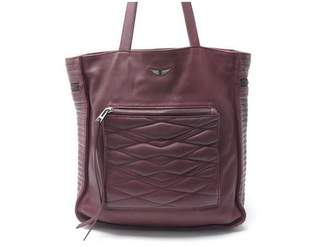 Zadig & Voltaire Burgundy Leather Handbags