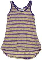 Erge Speedway Striped Tank (Kid) - Banana/Purple-Medium