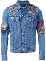 Diesel embroidered denim jacket