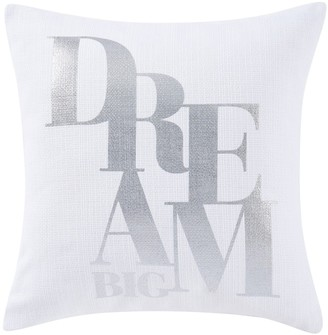Sean John Dream Big Square Throw Pillow