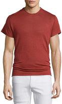 IRO Jaoui Short-Sleeve Linen T-Shirt, Red