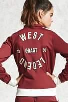 Forever 21 FOREVER 21+ Active West Coast Legend Jacket