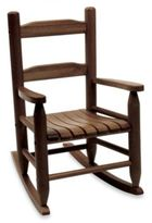 Lipper Child's Rocking Chair in Walnut