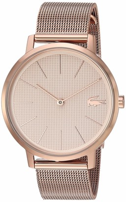 Lacoste Women's Rose Gold IP Quartz Watch with Stainless Steel Strap 16 (Model: 2001080)