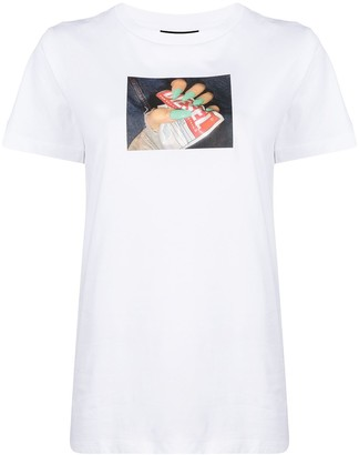 Diesel photograph-print cotton T-Shirt
