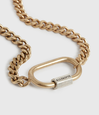 AllSaints Emery Gold-Tone Chain Bracelet