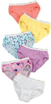 Hanes Underwear Tagless Brief Underwear, 6 Pack (Toddler Girls)