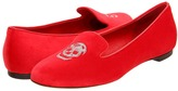 Alexander McQueen Scarpa Tess. S. Cu Velvet Regent Dyed/LE (Red/Red/Rute) - Footwear