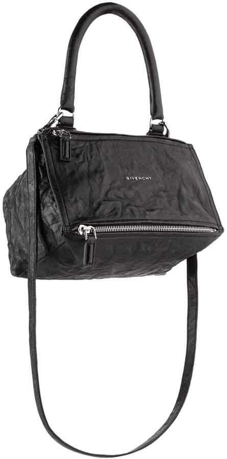 Givenchy Small Washed Leather Pandora Shoulder Bag