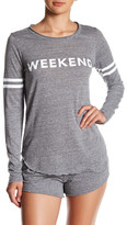 Chaser Tri-Blend Graphic Long Sleeve Tee