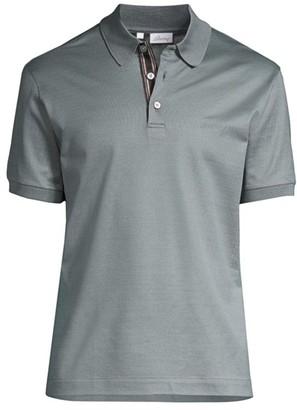 Brioni Short-Sleeve Pique Polo