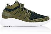 adidas Men's Tubular Nova Primeknit Sneakers-DARK GREEN, BLACK