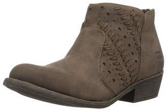 Billabong Women's Over Under Ankle Boot Black 6H