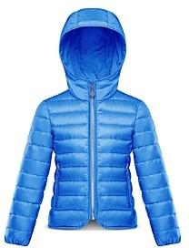 Moncler Girls' Takaroa Packable Down Jacket - Little Kid