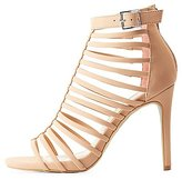 Charlotte Russe Strappy Caged Dress Sandals