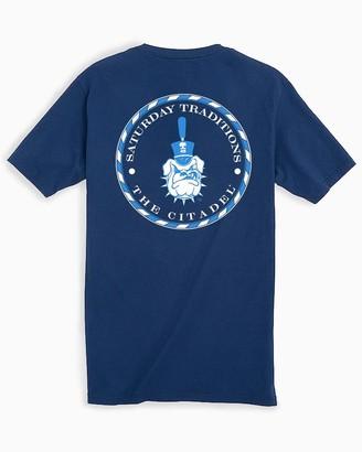 Southern Tide The Citadel Bulldogs Circle Short Sleeve T-Shirt